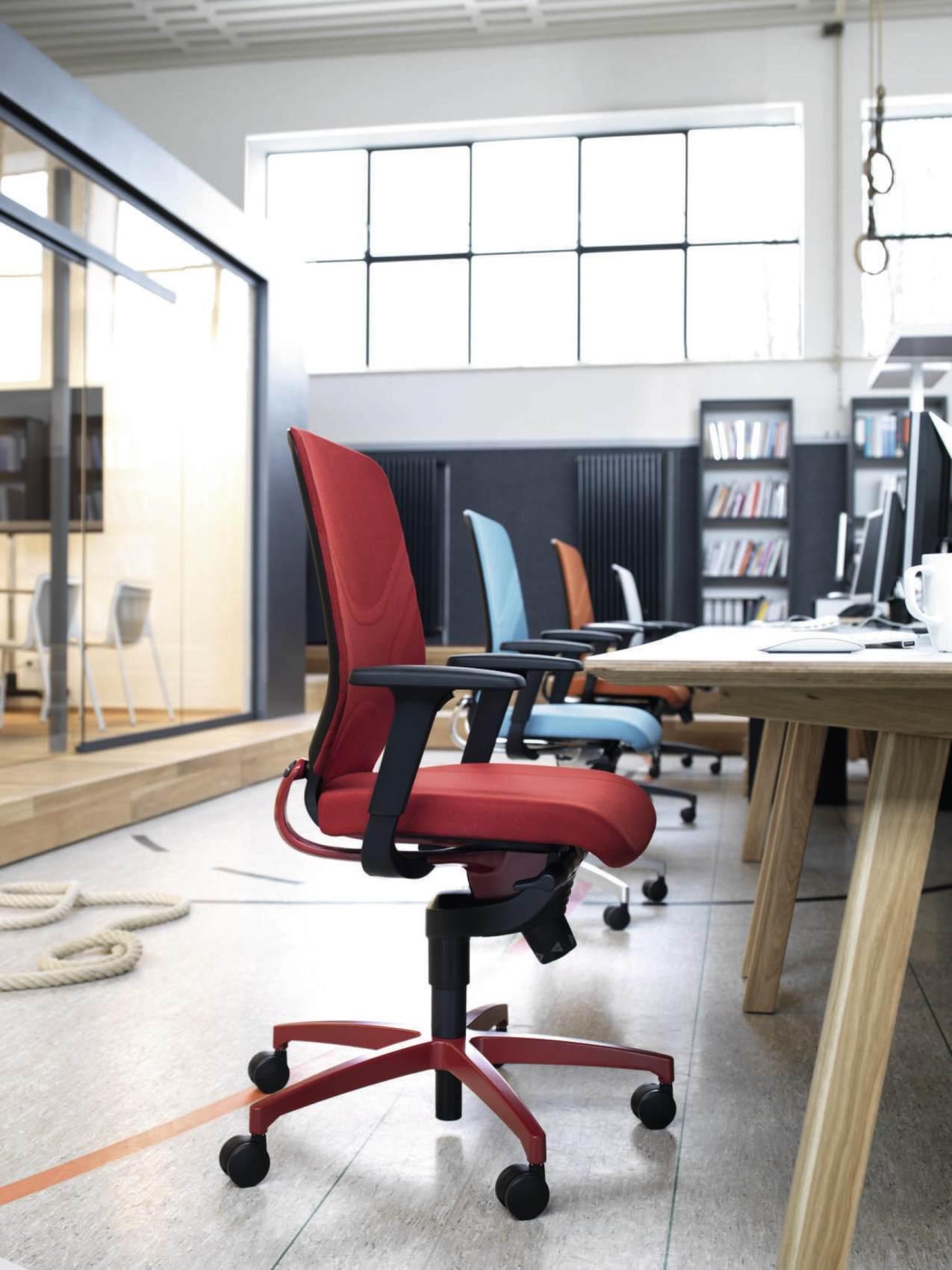 In 184/7 Office Swivel Chair Wilkhahn