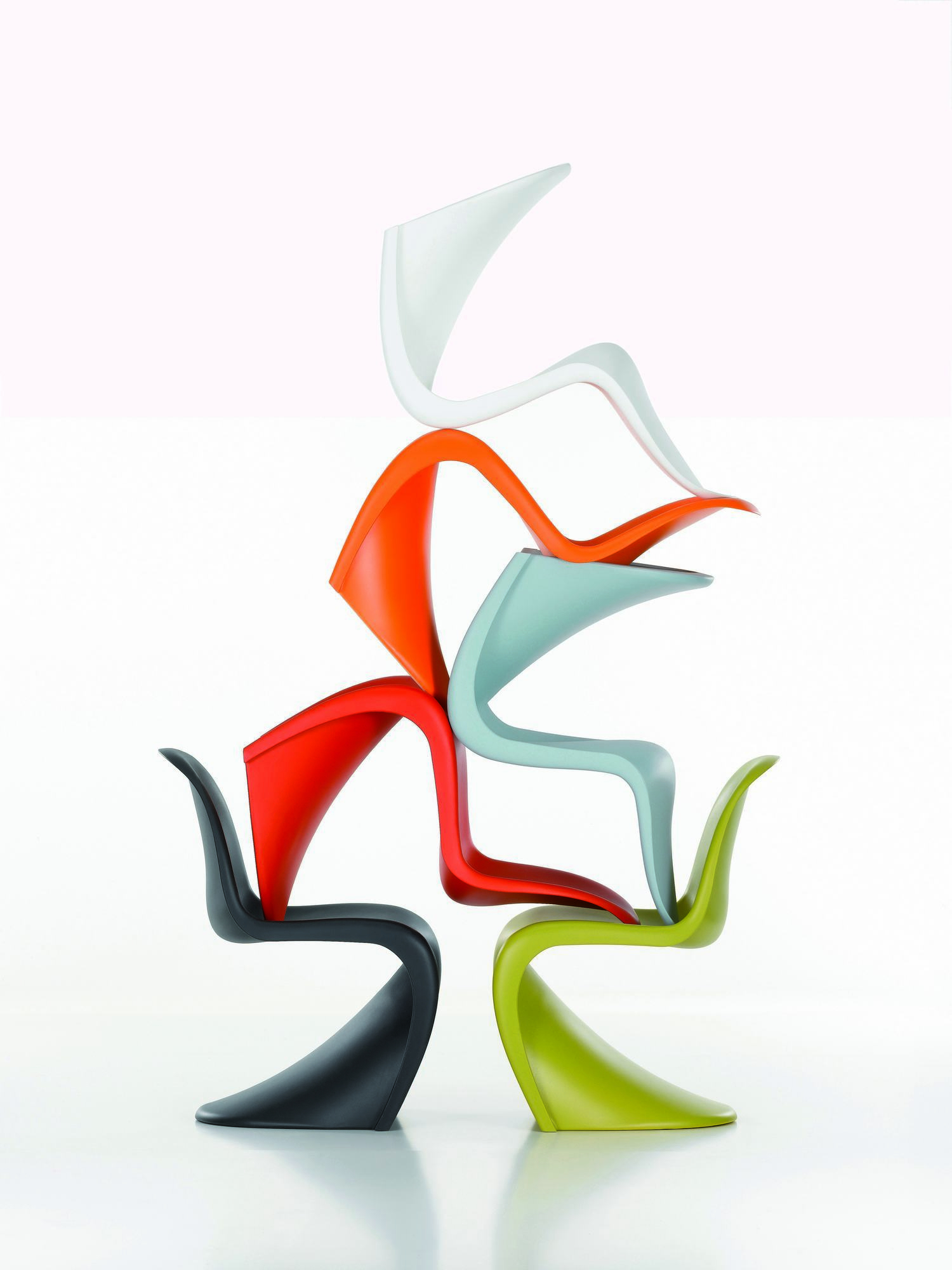 Panton Chair Vitra DISCONTINUED ARTICLES OLD HEIGHT