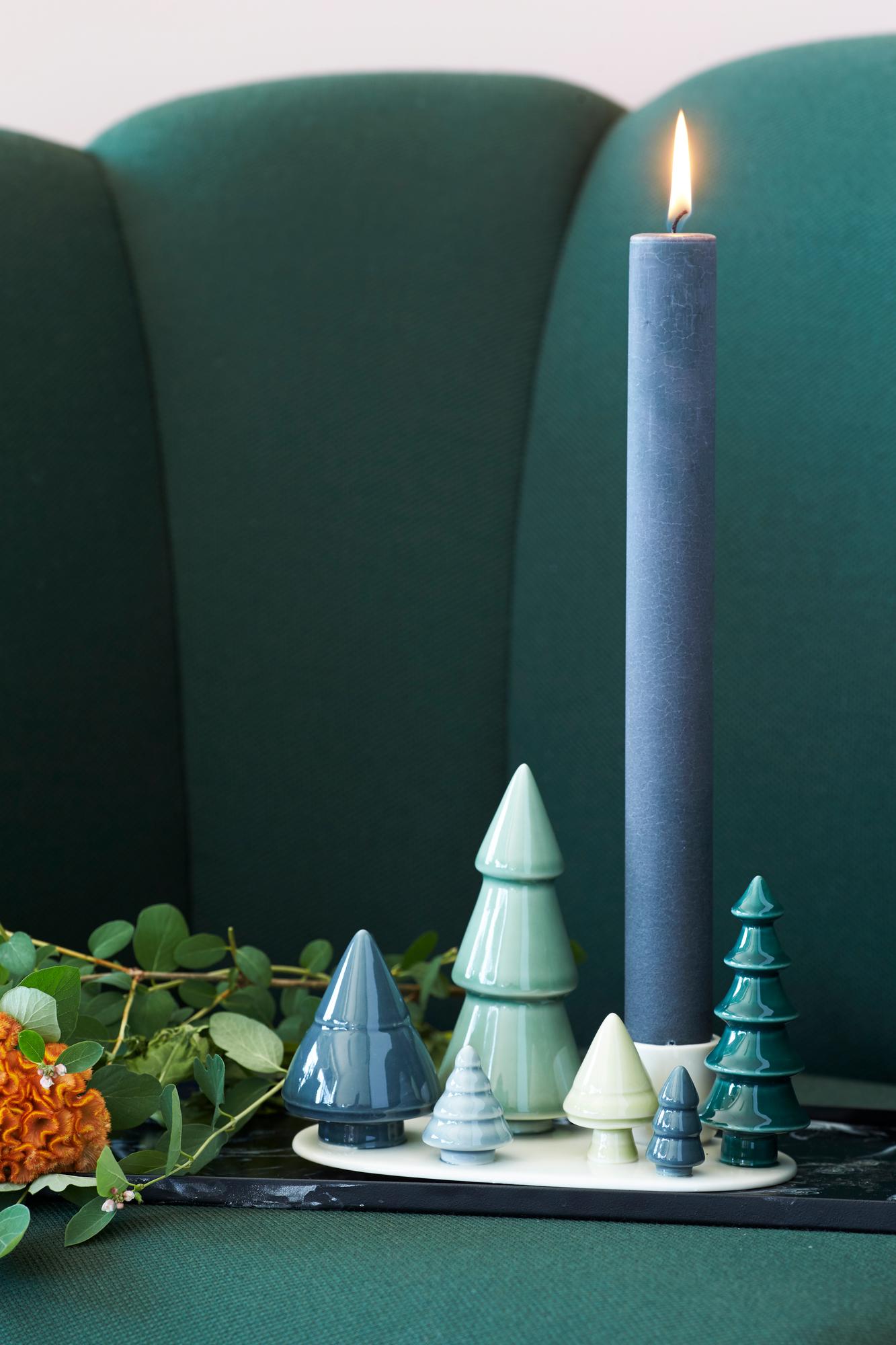 Winter Stories Forest Candle Holder Dottir