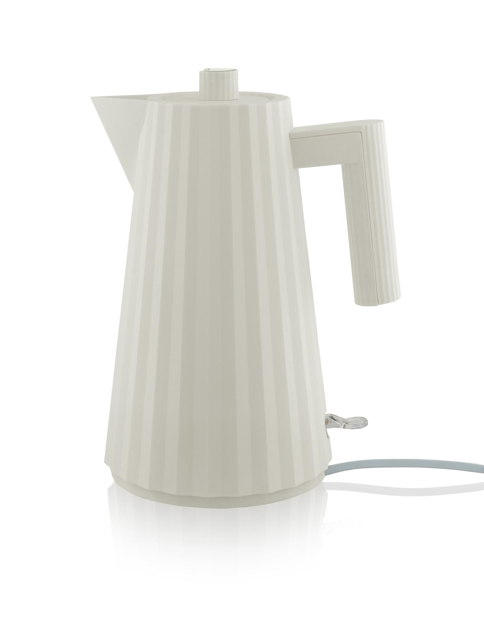 Plissé Water Boiler white Alessi