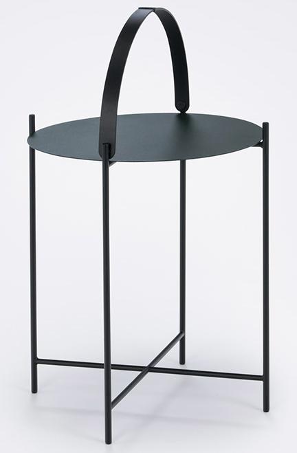 Edge Tray Table small black Houe