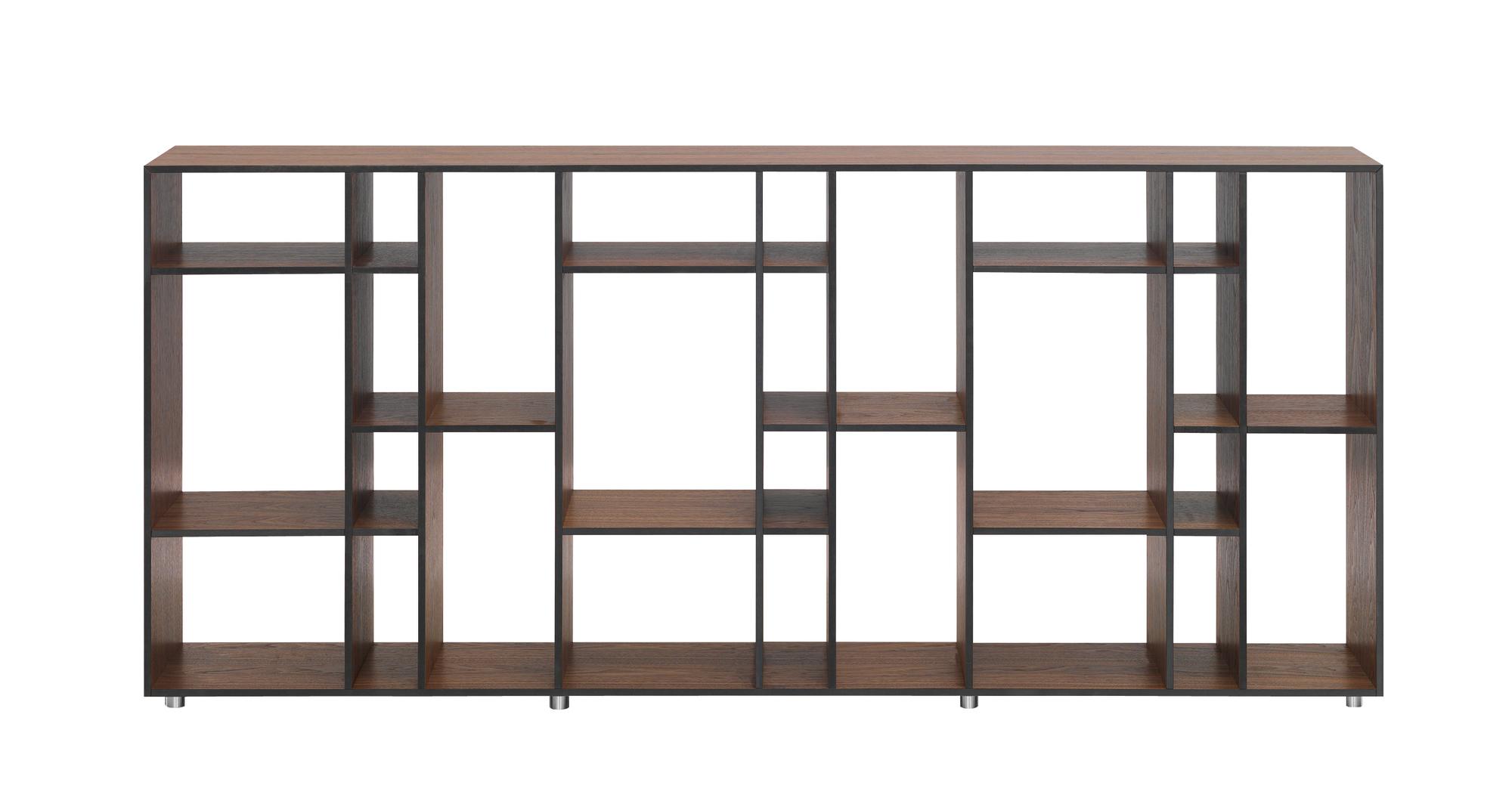 Code 2 wooden shelf MDF American walnut Zeitraum