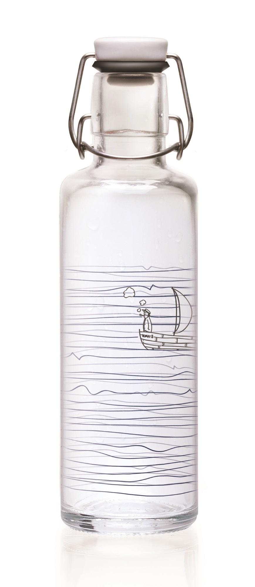 Soulbottle Trinkflasche verschiedene Motive Soulbottles-Jellyfish in the Bottle
