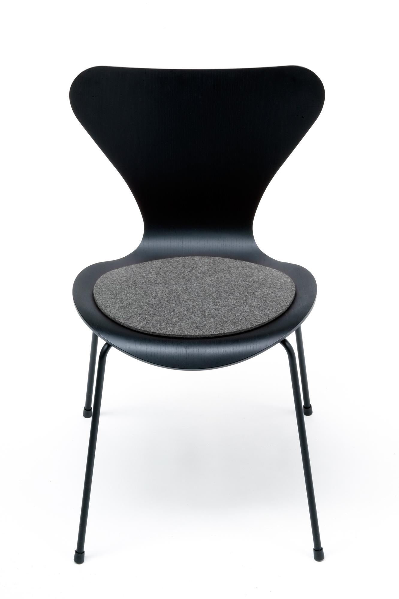 Seat pad - Felt pad Fritz Hansen 3107 Chair Hey Sign