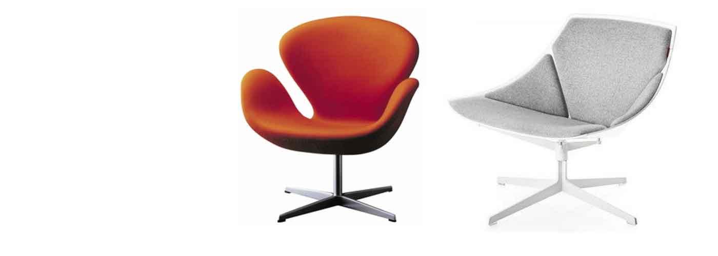 Swivel armchairs