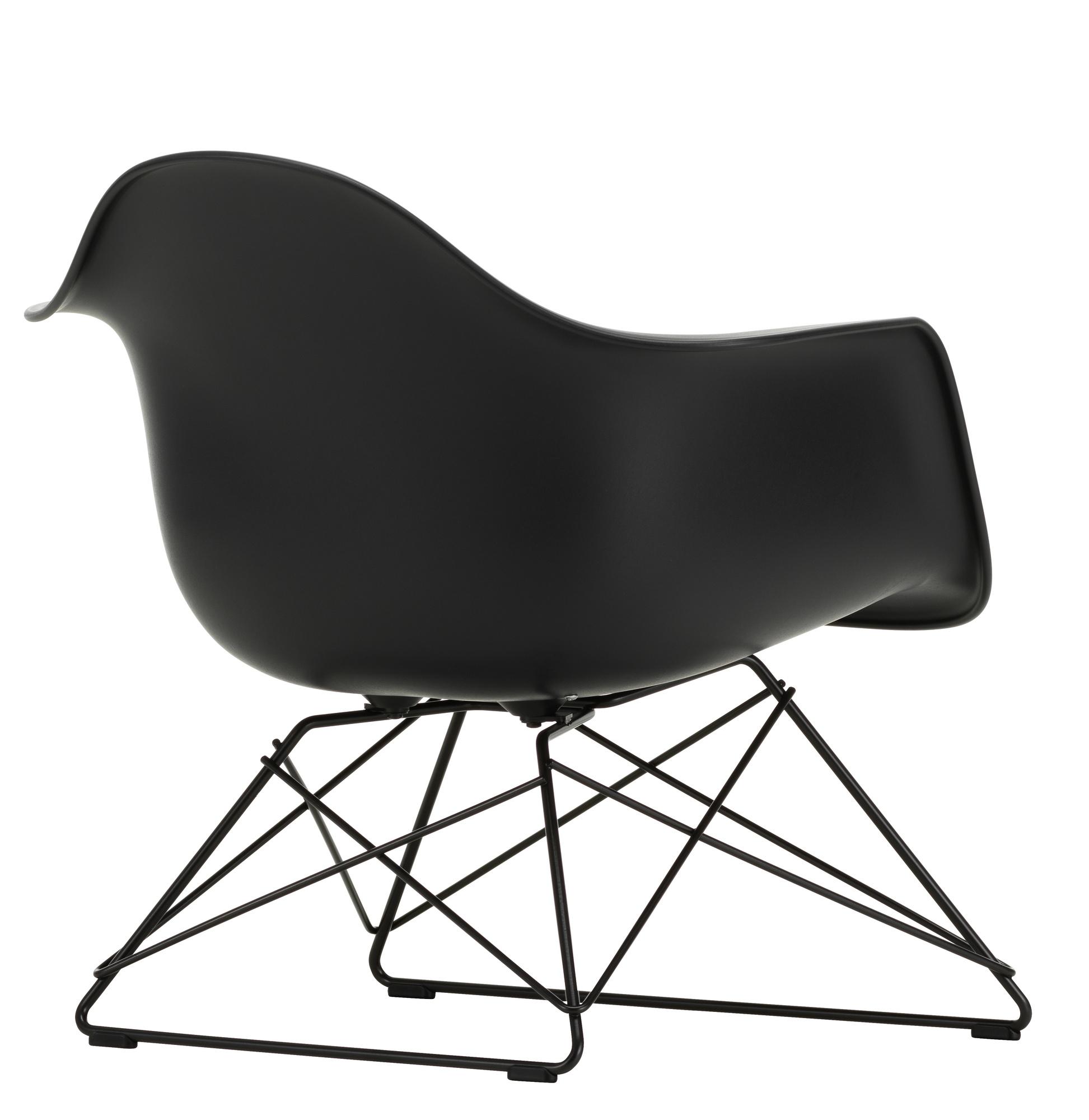 Eames Fiberglass Chair DSW Vitra Maple black - Sea foam green