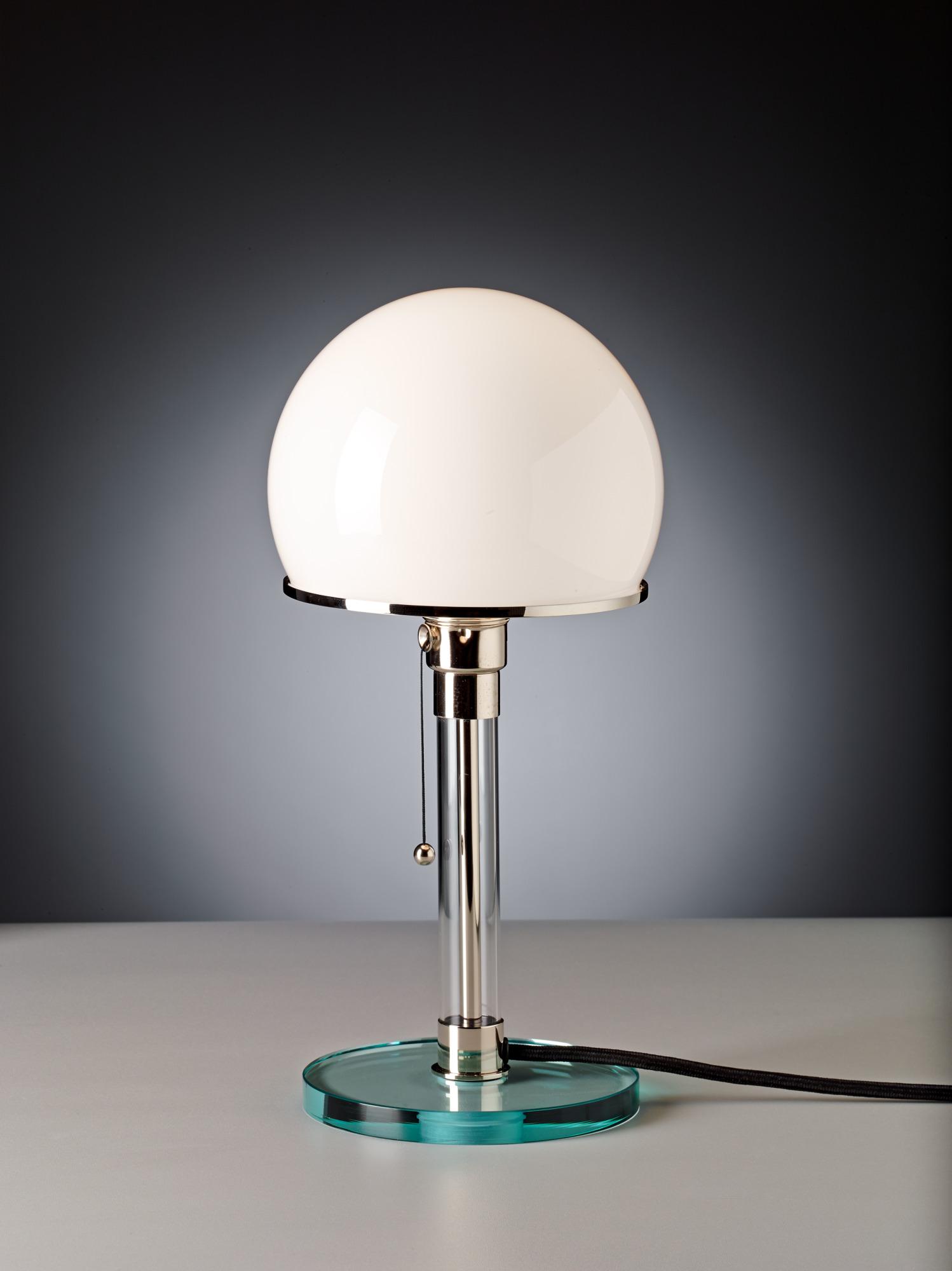 WG24 / WG 24 Wagenfeld Table Lamp Tecnolumen