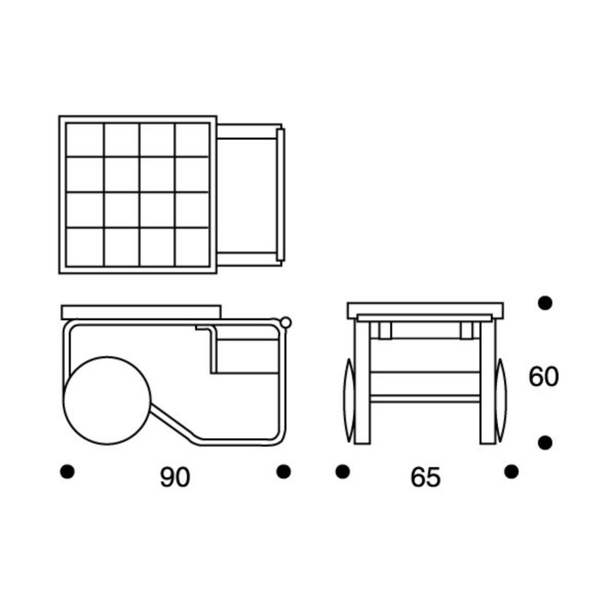 900 trolley table Artek