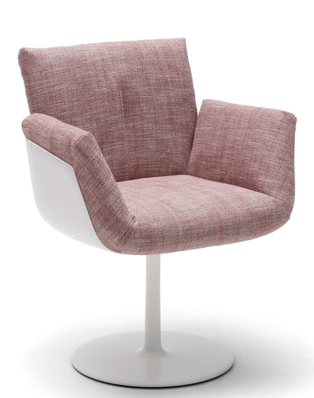 Alvo Armchair with plate base Cor