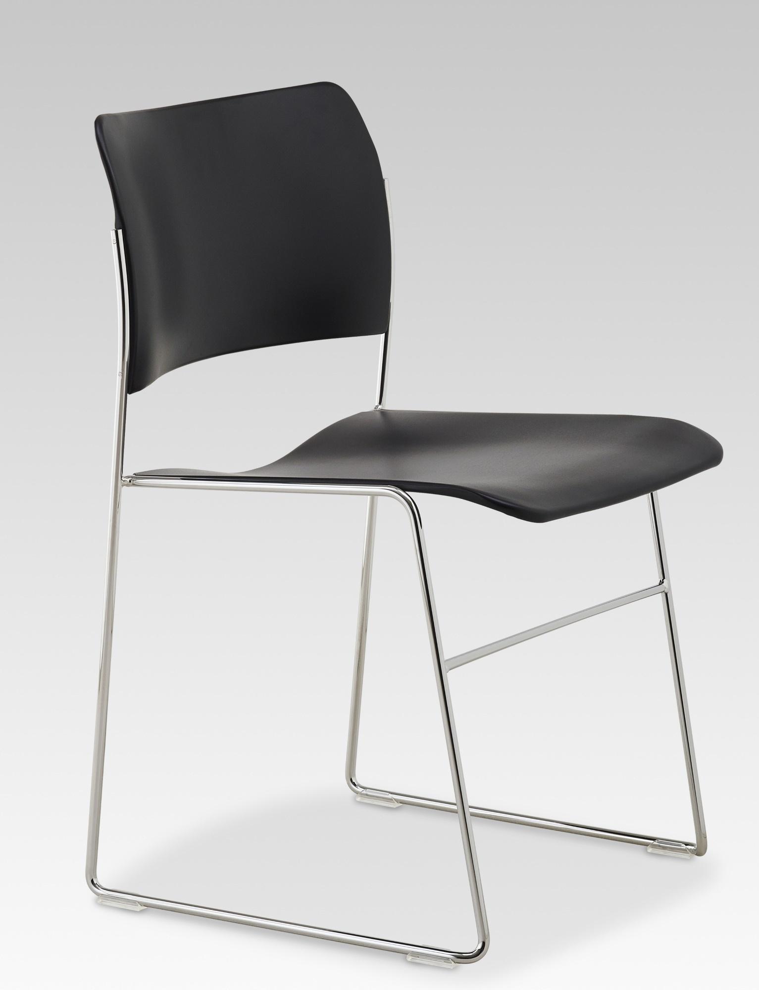 40/4 Stuhl Metall Howe-schwarz