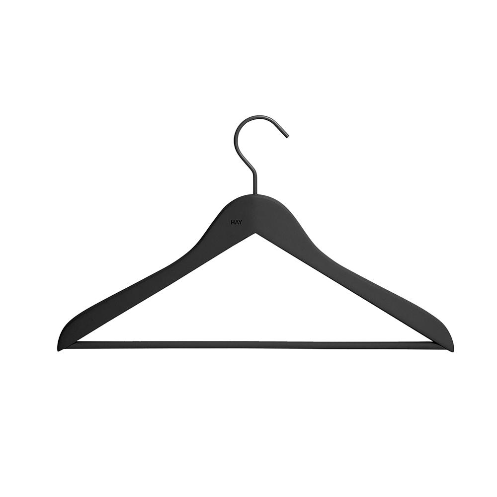 Soft Coat Hanger Slim Trousers Coat Hanger 4-er Set Hay