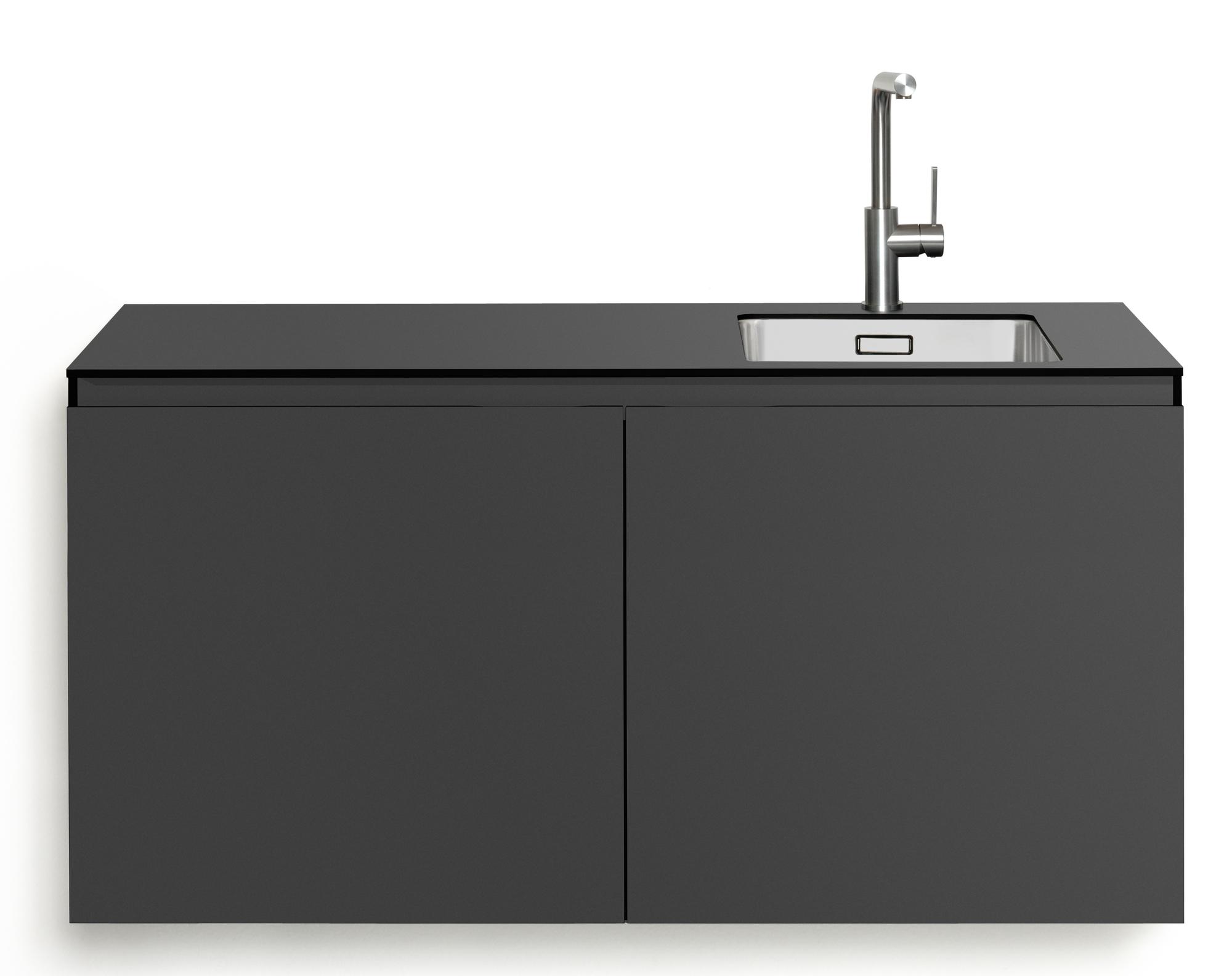 SL Light Kitchen Module without Cooking zone Anthracite Miniki