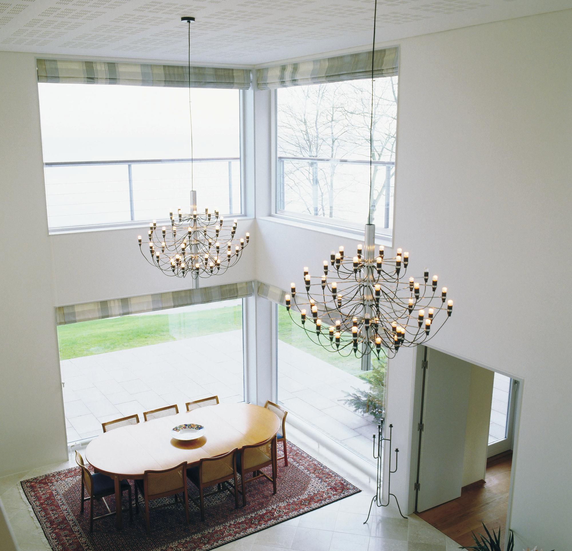 2097 / 50 Pendant lamp large Flos chrome
