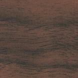L 248 cm / Walnuss lackiert
