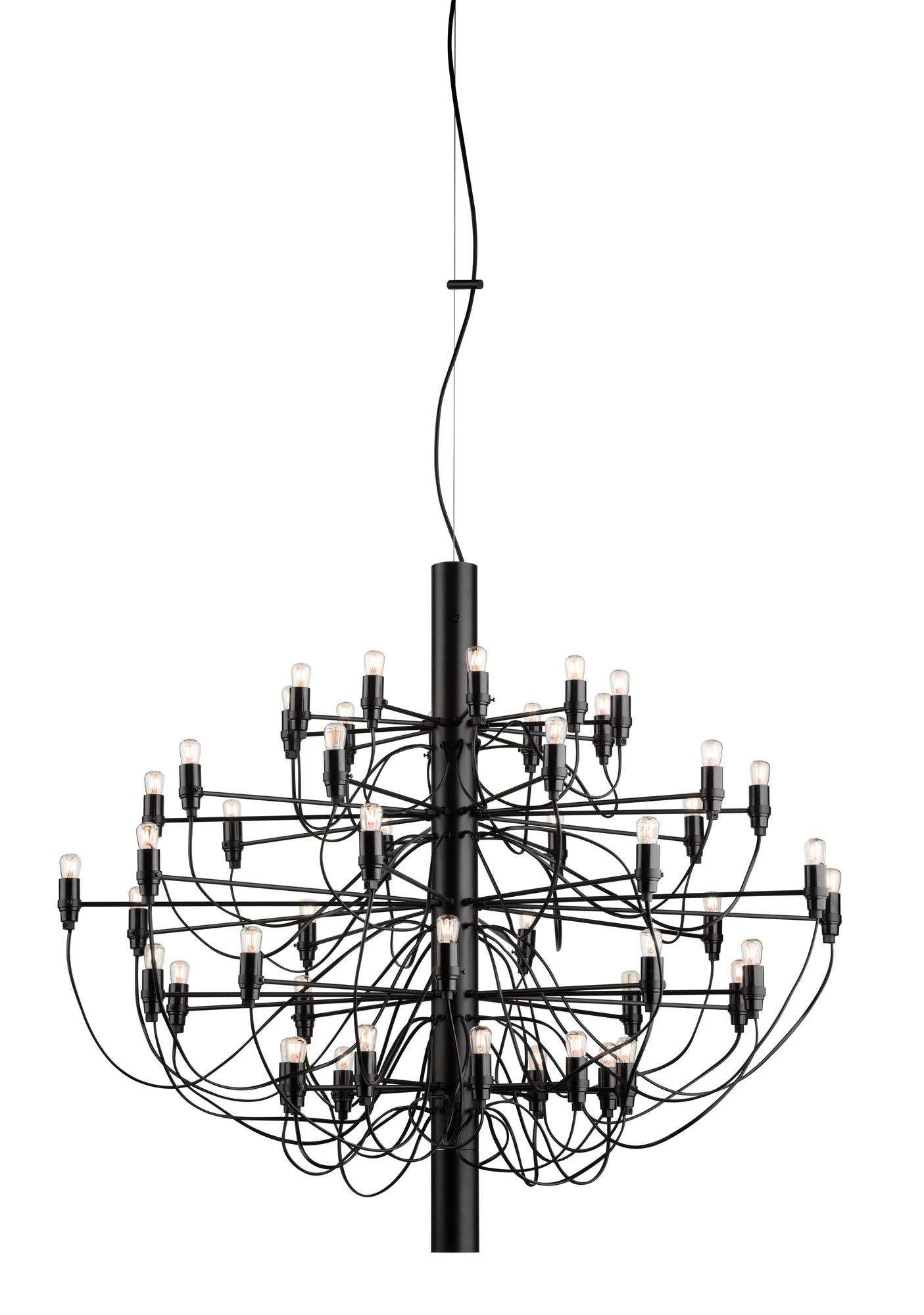 2097/50 Pendant light black Flos