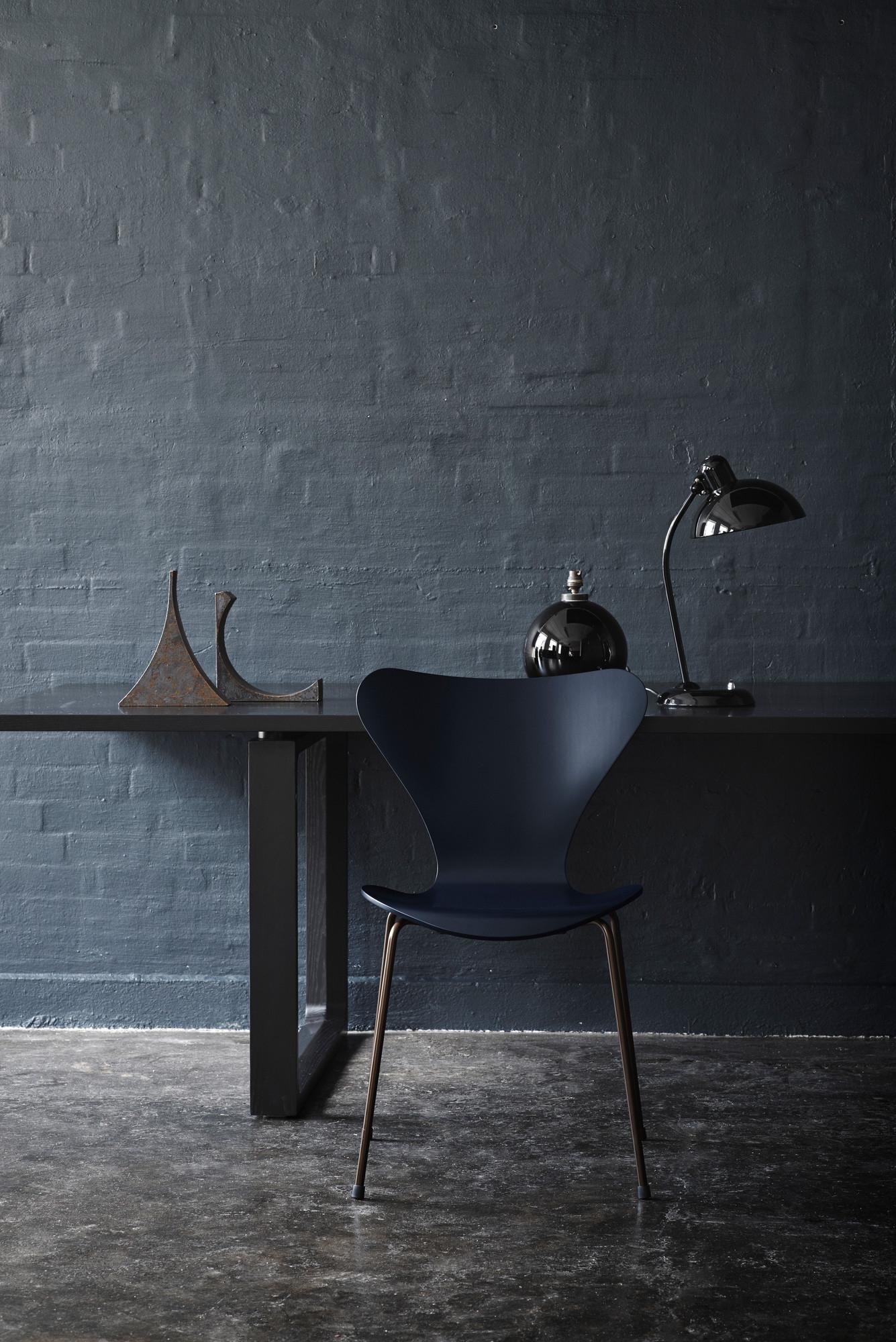 6556 T Table Lamp KAISER idell Fritz Hansen black high gloss