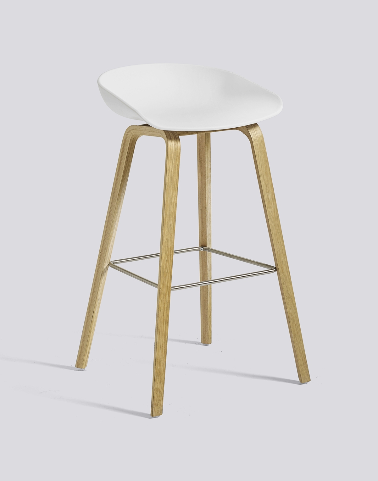 About A Stool AAS32 / AAS 32 Bar Stool High Oak soaped - dusty blue Hay