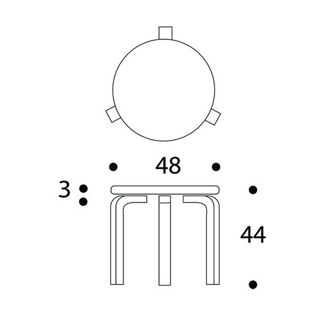 90D table Artek