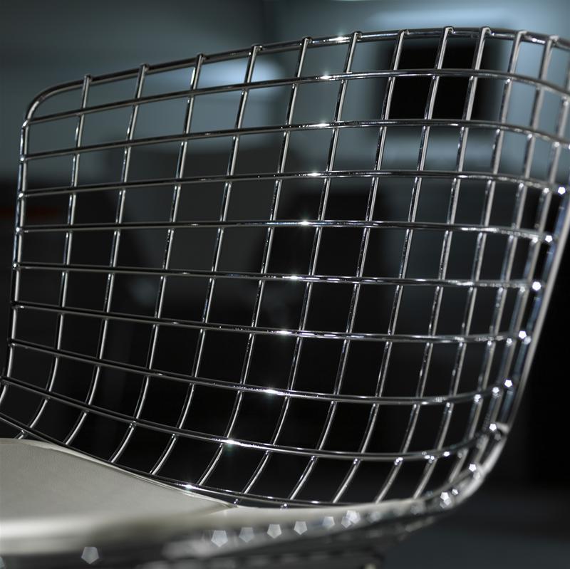 Bertoia Chair fully upholstered Knoll International