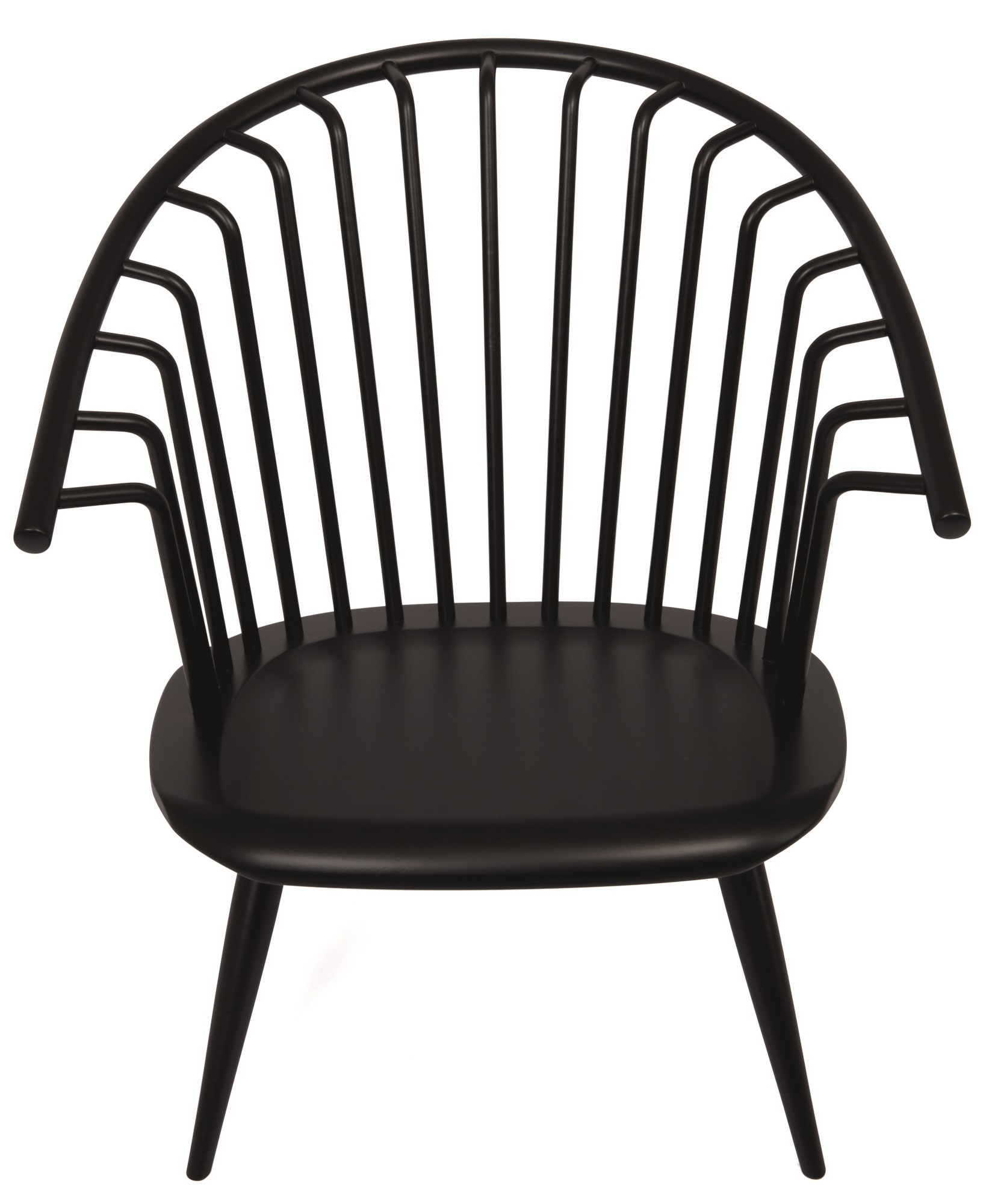 Crinolette Sessel Artek-salbei-grün lackiert