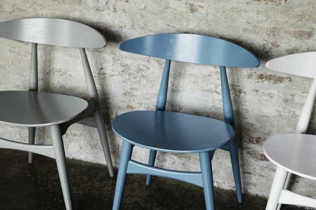 CH33 unpadded chair Carl Hansen & Søn