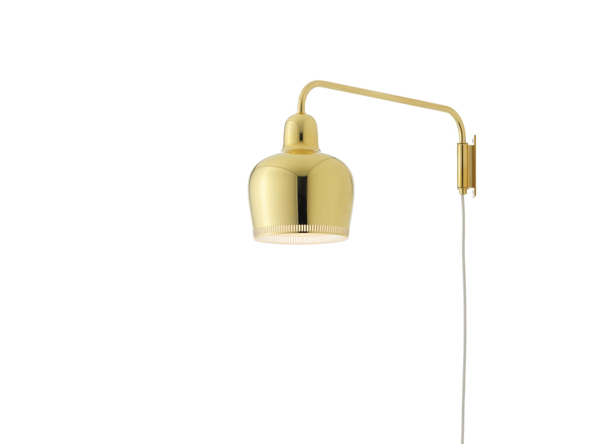 A330S Golden Bell Wall lamp Artek QUICK SHIP White