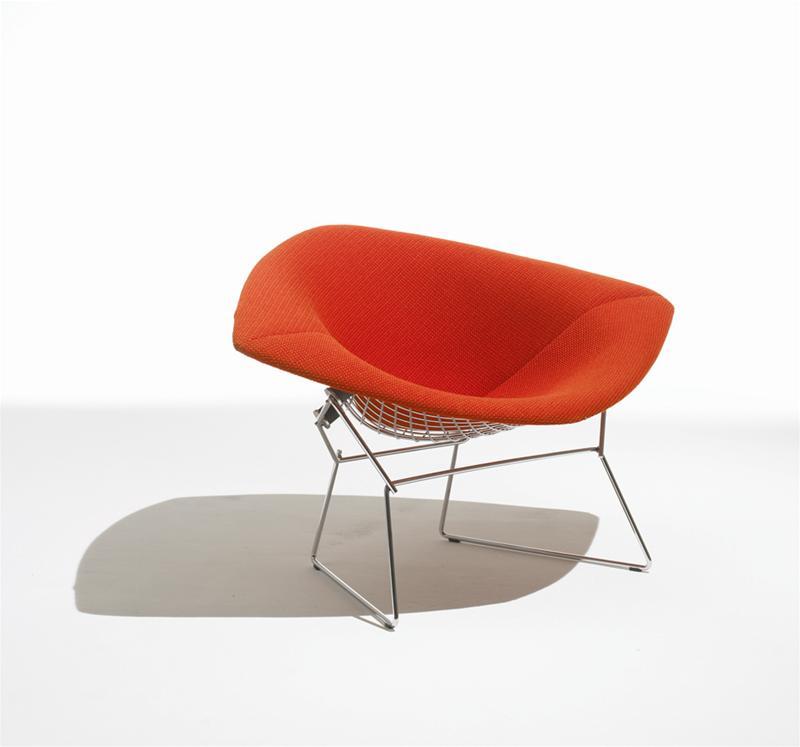 Diamond large armchair Knoll International