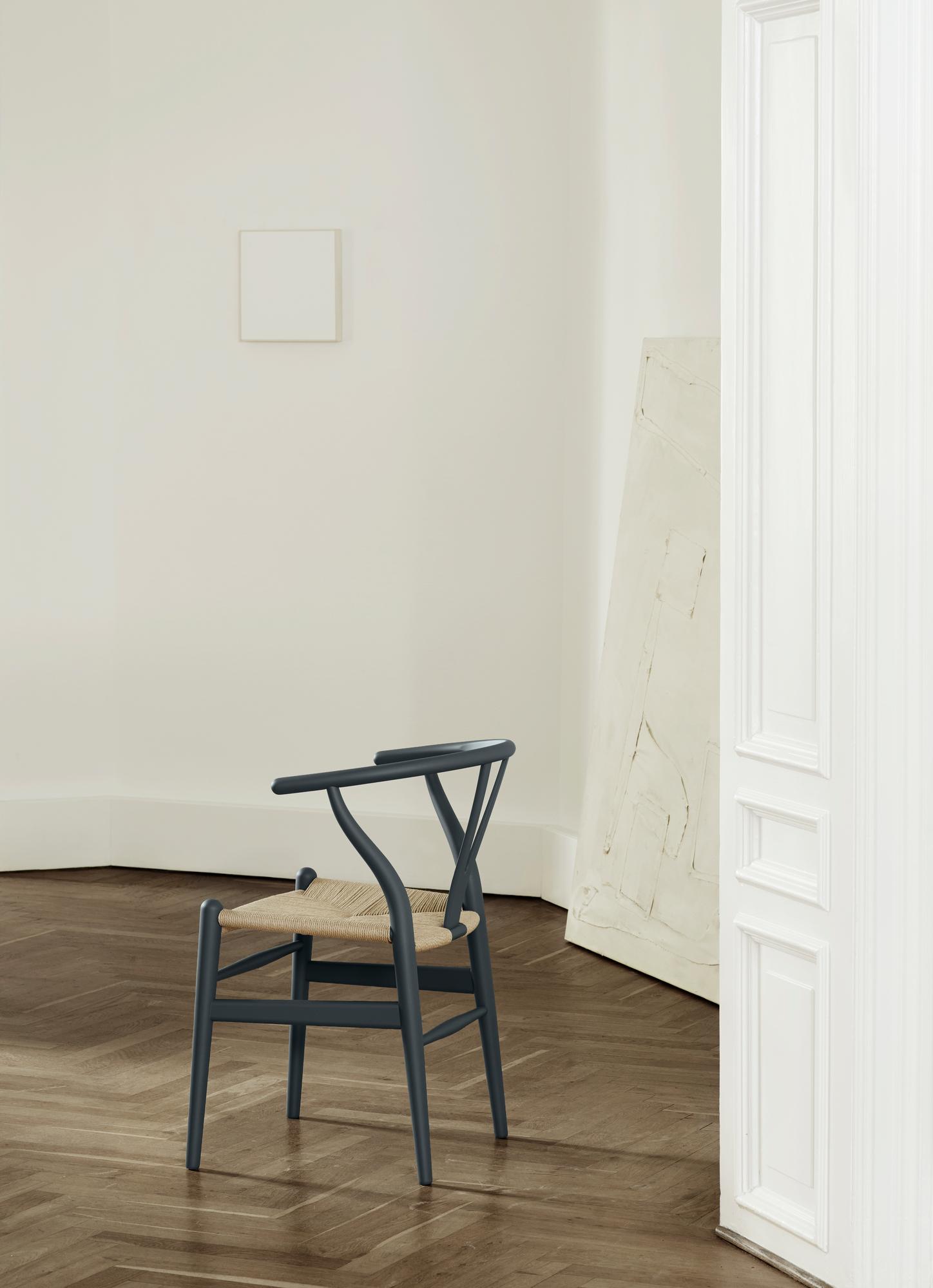 CH24SOFT Wishbone Chair / Y-Chair Carl Hansen& SønLIMITED EDITION green
