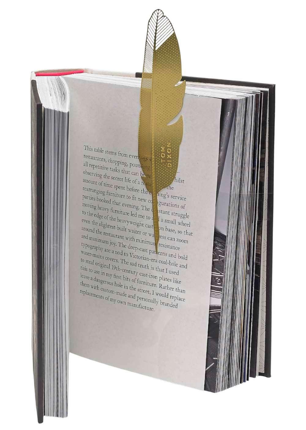 Bookworm Quill bookmark Tom Dixon