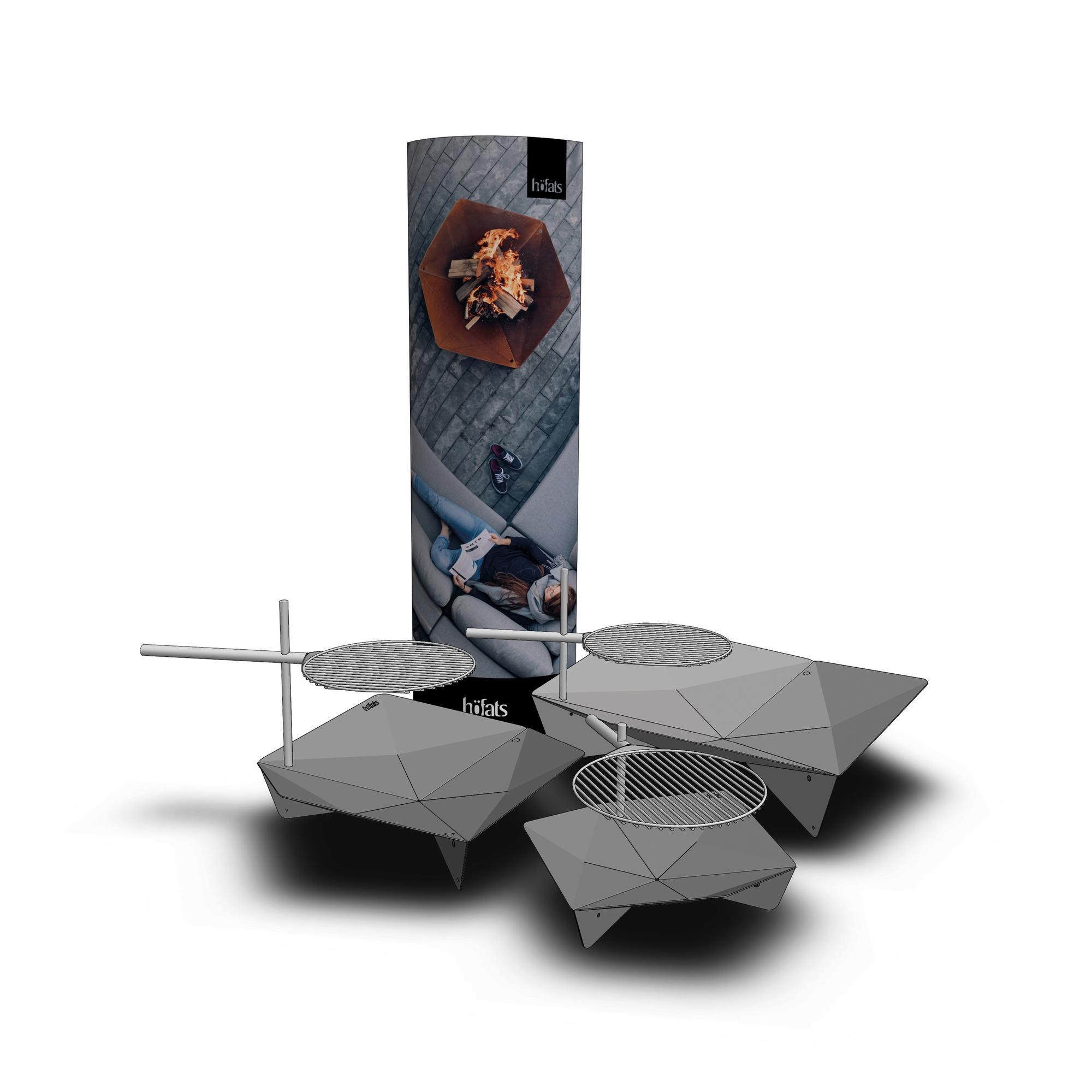 Triple Fire Bowl Ø 65 cm höfats
