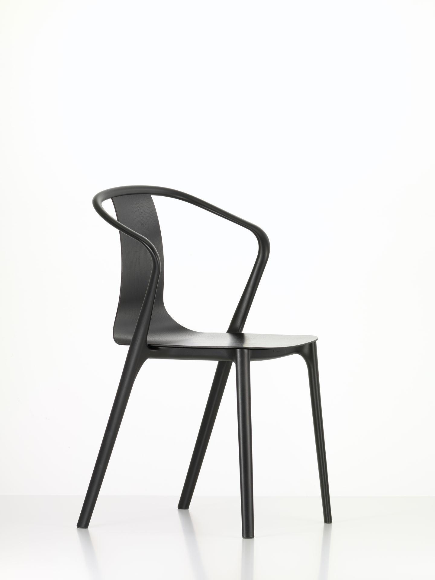 Belleville Armchair Plastic Chair Vitra