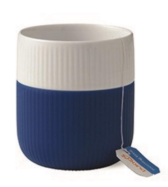 Fluted Contrast Mug Royal Copenhagen Mega blue