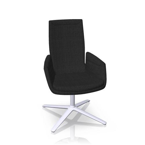Cordia revolving chair high back Cor