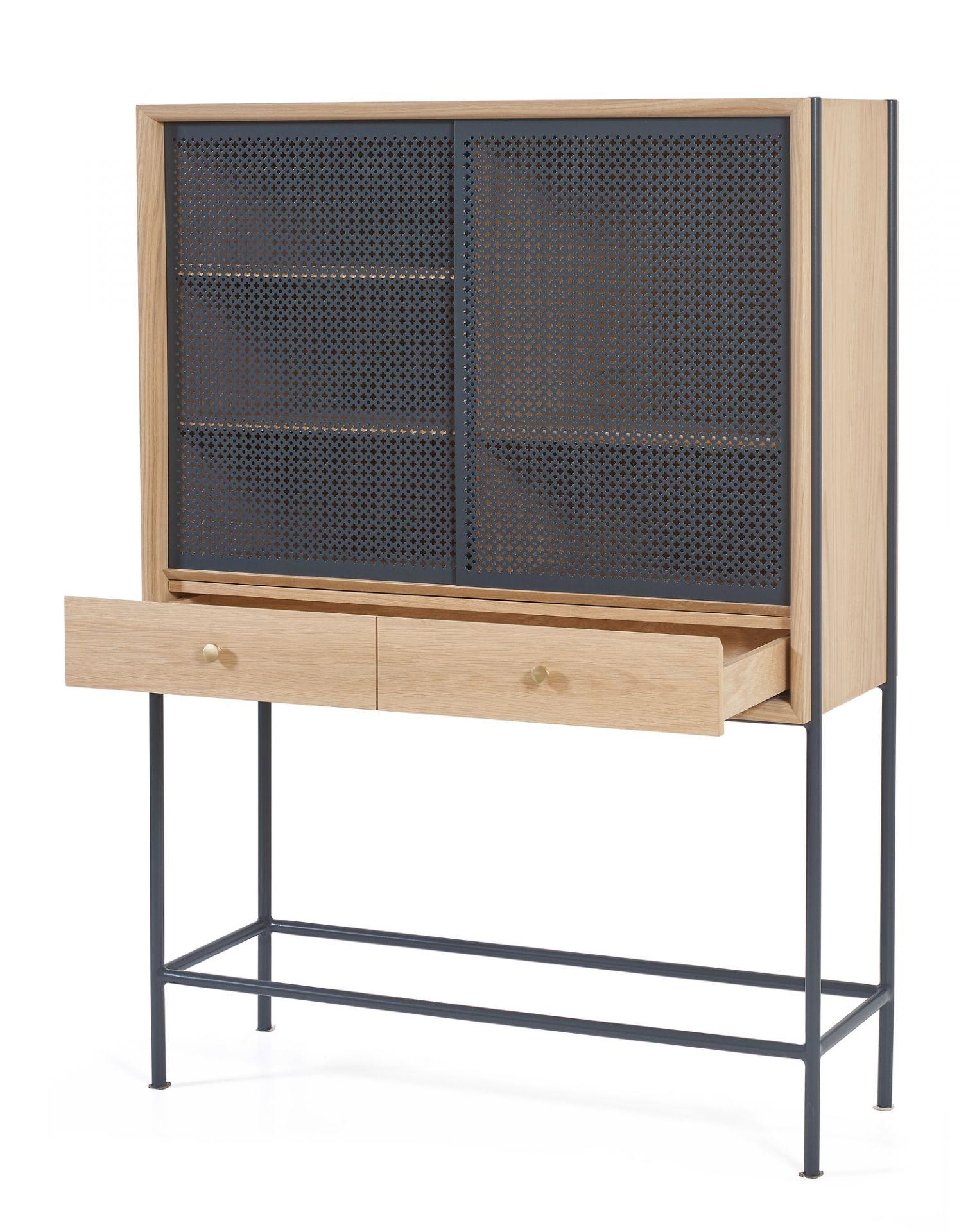 Gabin Cabinet sideboard Hartôslate gray