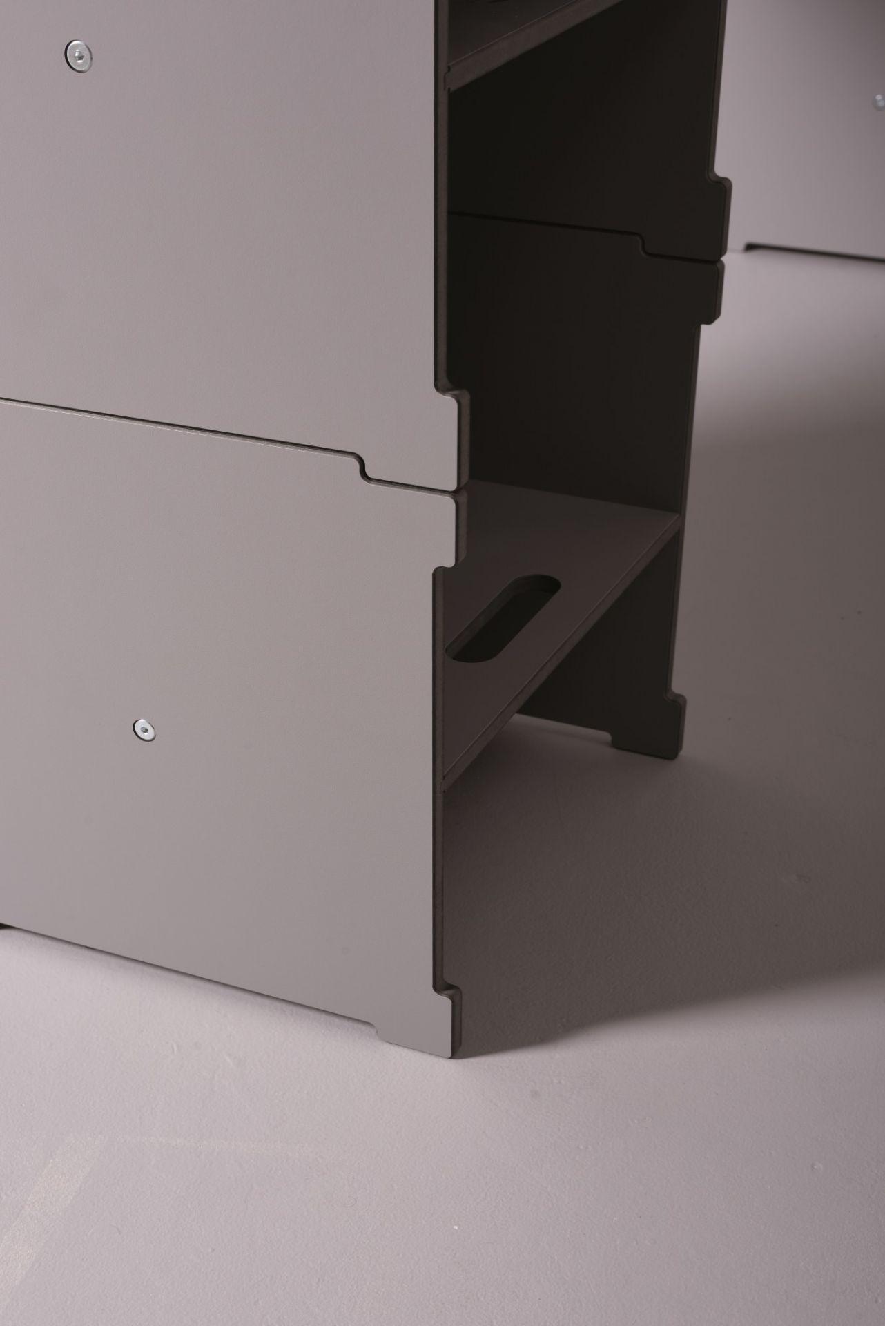 Cubelix cube-agate grey