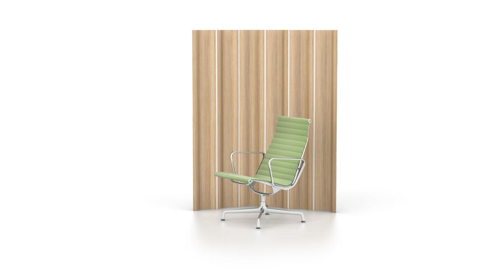 Aluminum Chair EA115 / EA 115 Armchair Non-rotatably Vitra