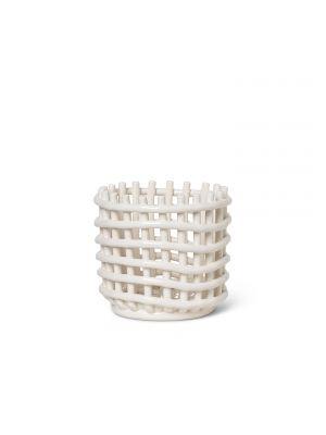 Ceramic Basket Ferm Living