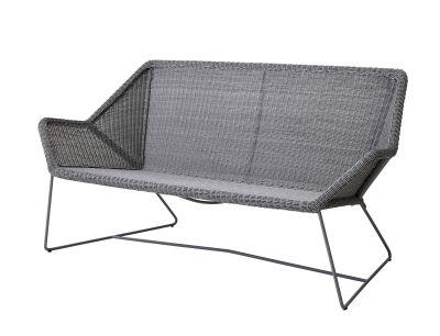 Breeze outdoor lounge sofa light gray Cane-Line