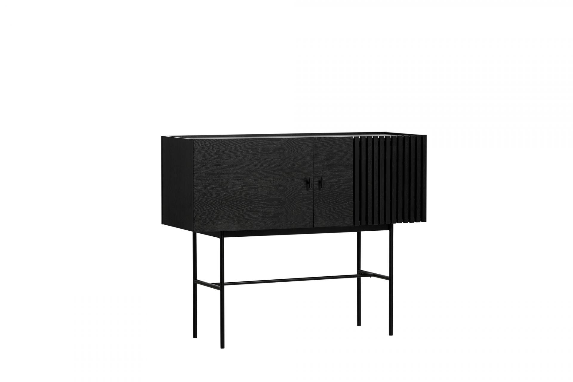 Array Sideboard (120cm) Black Woud