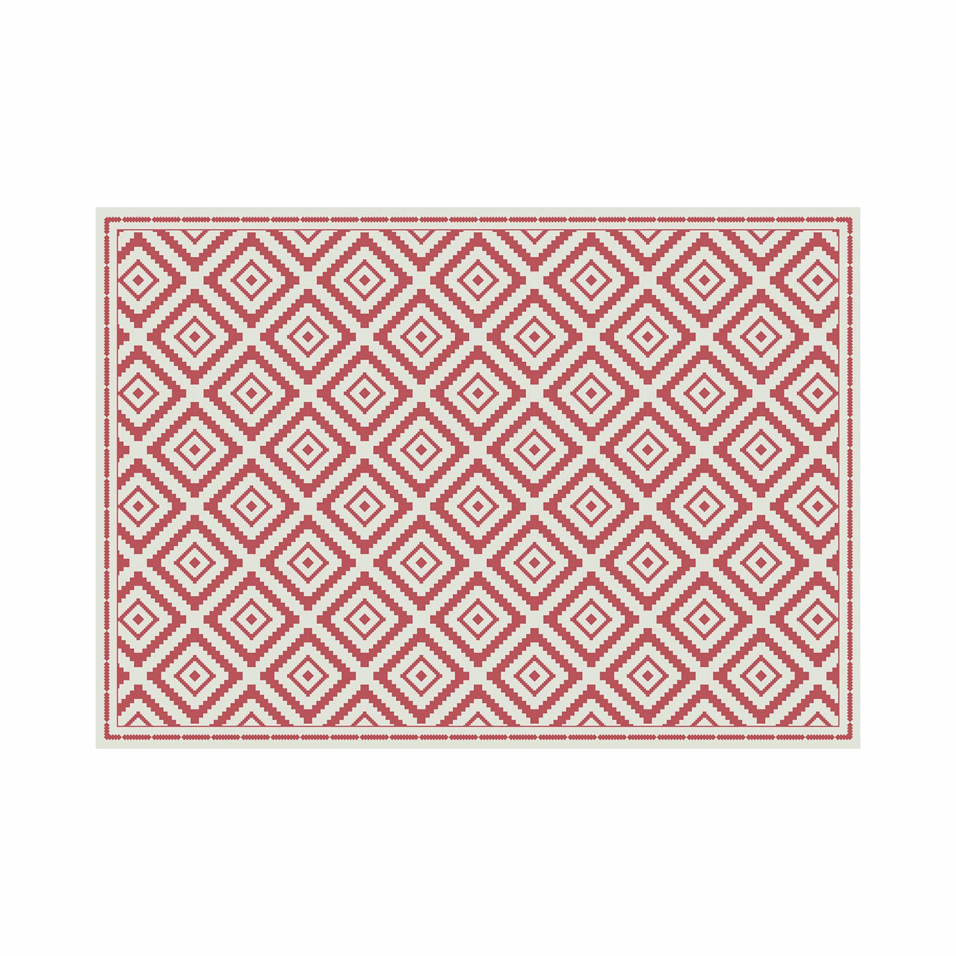 Matteo Vinyl Carpet Ethno Contento 90x60 cm