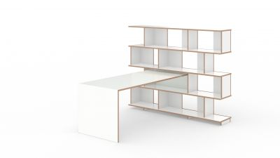 Anstell table for Stell shelf Tojo