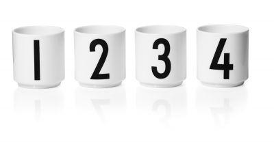 Espresso cups Design Letters