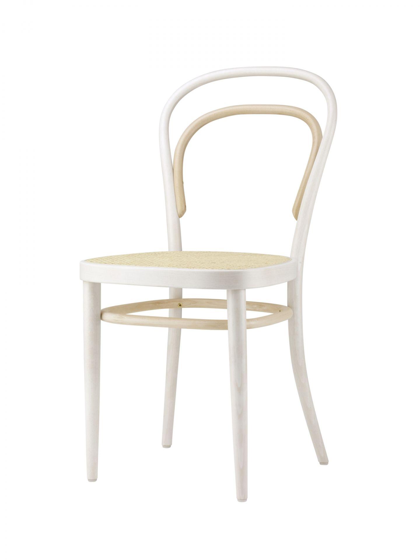 214 Two-Tone Coffee House Chair Thonet White