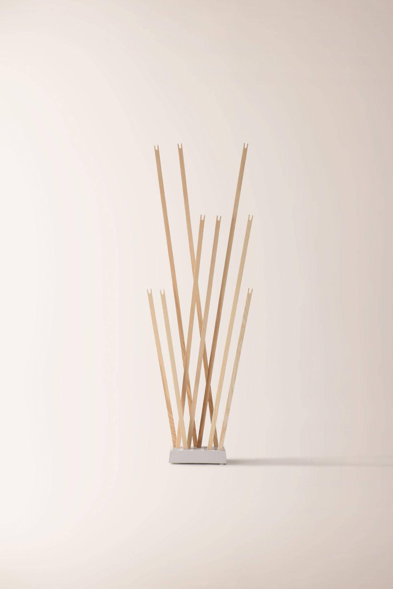 Pin Coat rack / Pin Light Nils Holger Moormann