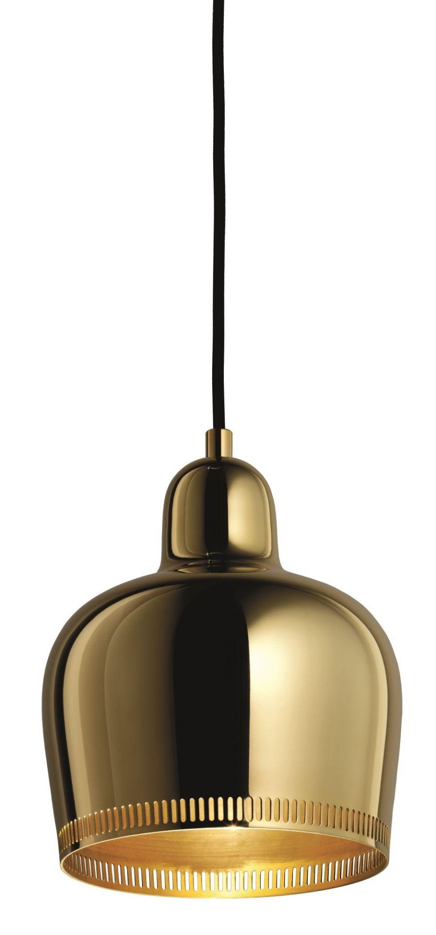 A330S Golden Bell pendant lamp Savoy brass Artek