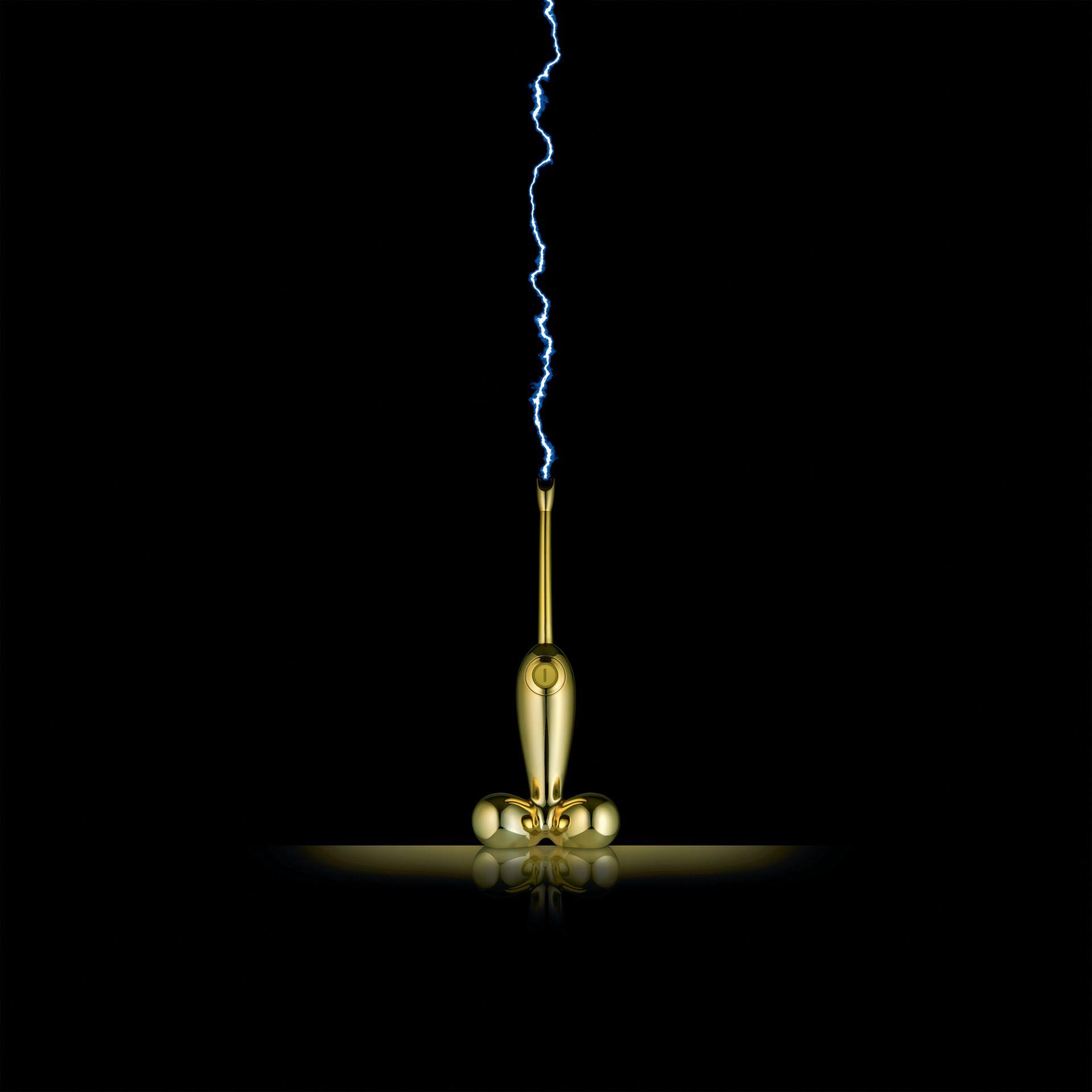 Firebird 2.0 Electric Arc Lighter Black Alessi
