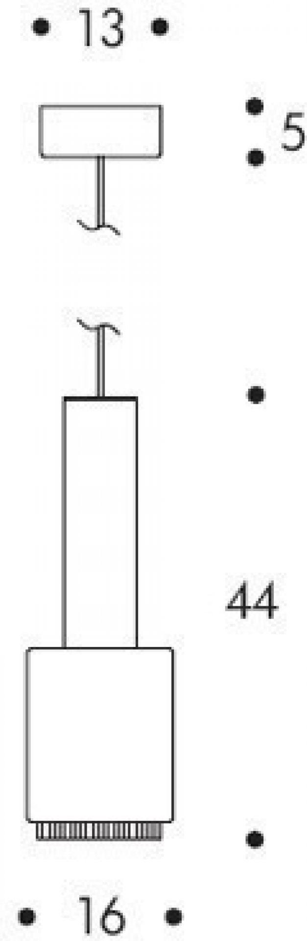 A110 Hand Grenade Pendant Artek