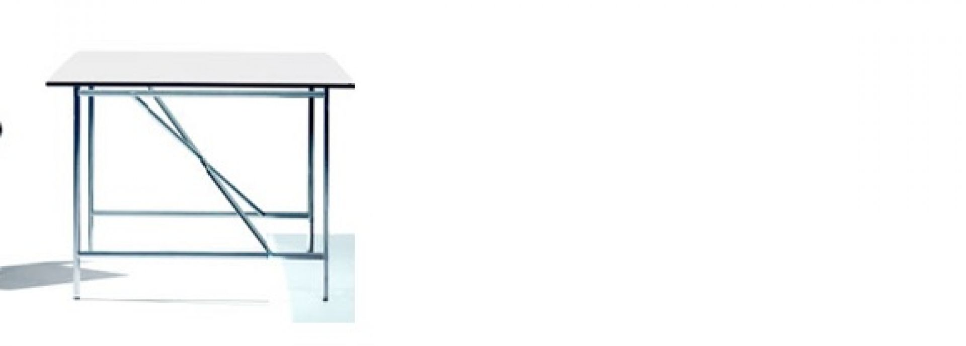 Eiermann desk for children silver frame Richard Lampert