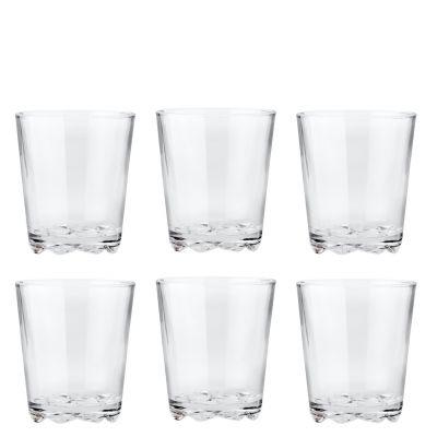 Glacier Drinking Glasses 0,25 Litre 6 Pieces Stelton