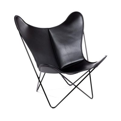 Butterfly Chair Hardoy Blank Leather Manufakturplus